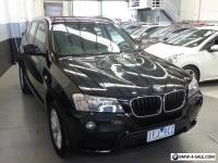 2013 BMW X3 F25 xDrive20d Wagon 5dr Steptronic 8sp 4x4 2.0DT [MY13.5]
